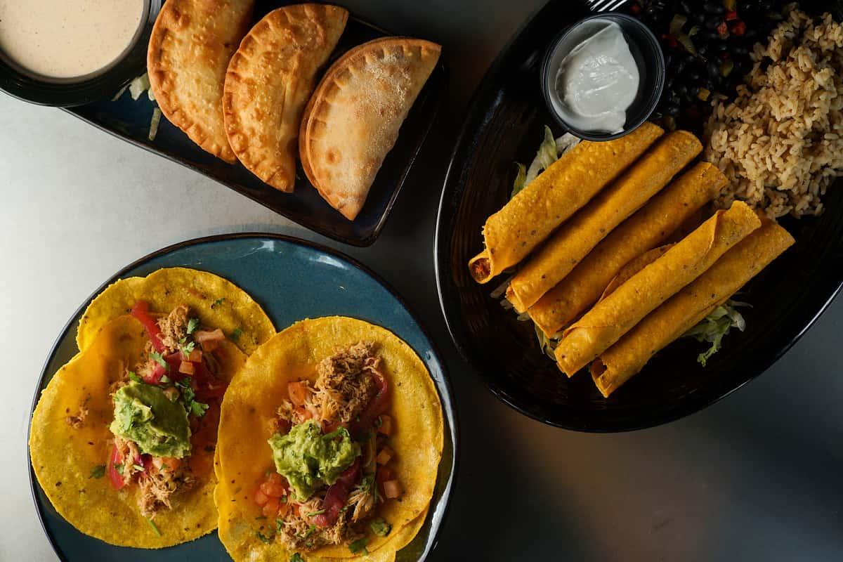 Street Tacos, Empanadas, and Taquitos