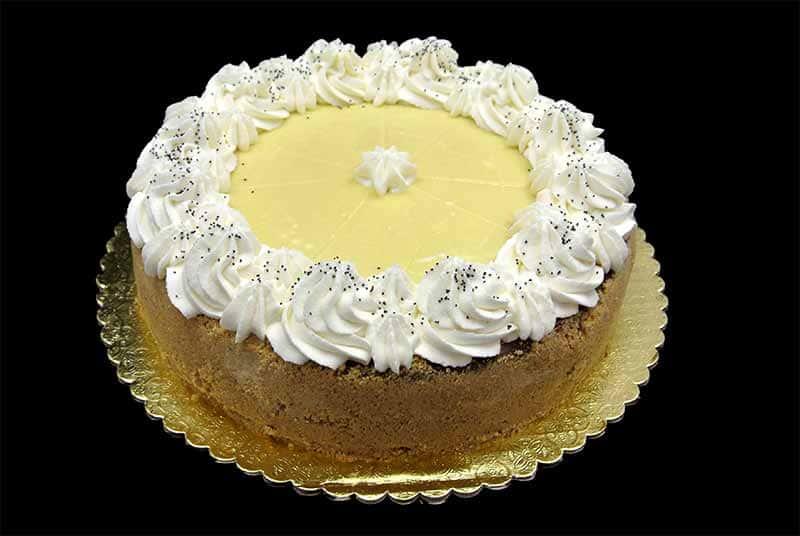 Lemon Poppy Seed Cheesecake