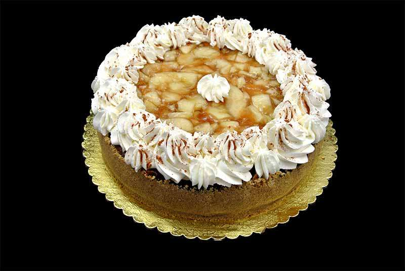 Apple Spice Cheesecake