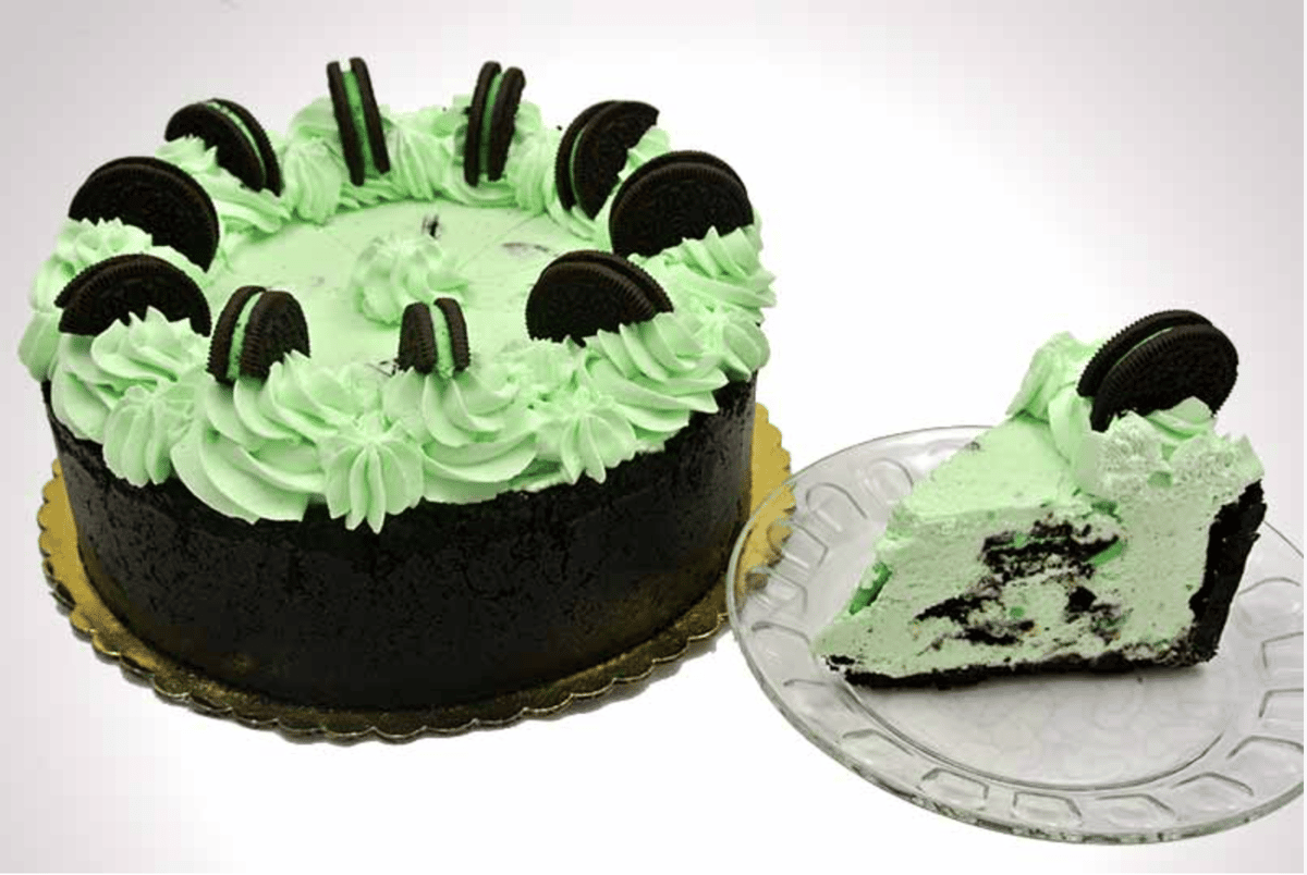 Mint Oreo Mousse Tart