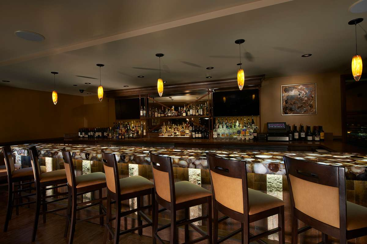 the bar lounge stools