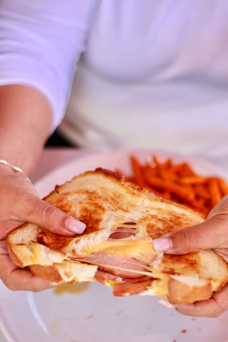 Grilled Ham & Cheese