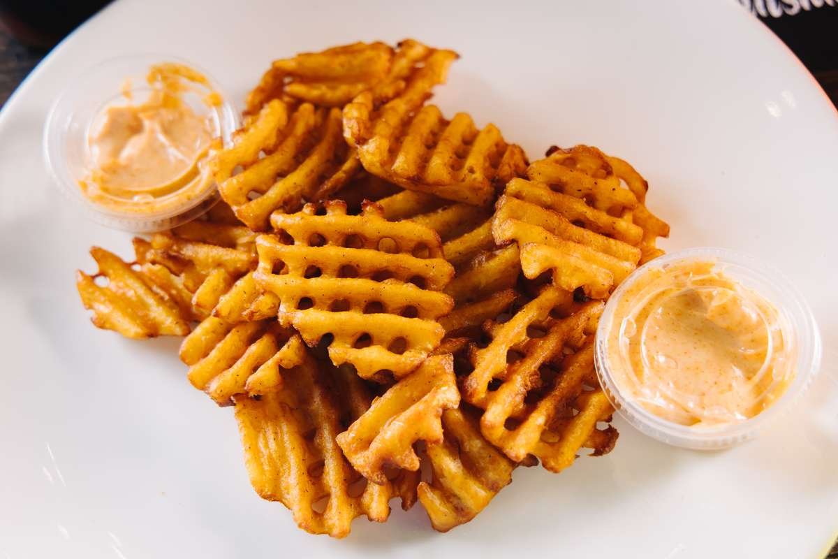 Spicy Waffle Fries