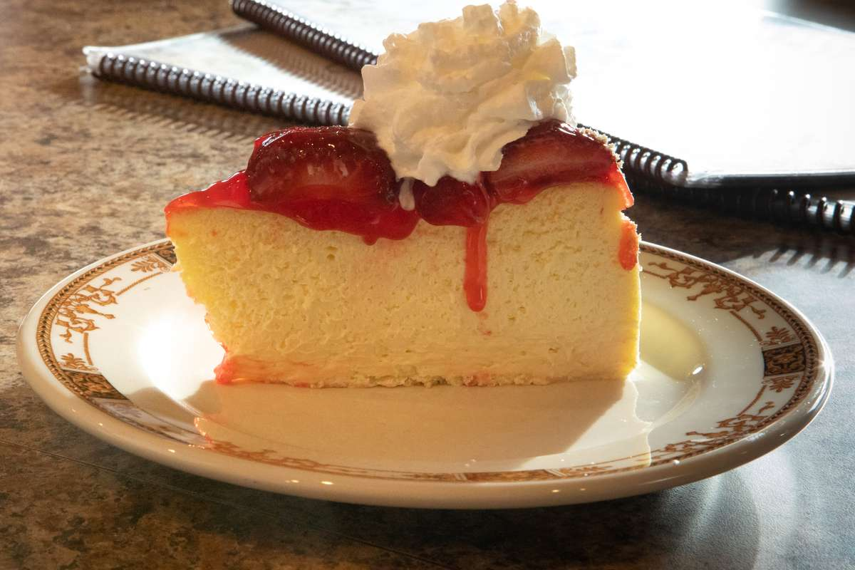 Assorted Fruit Cheesecake