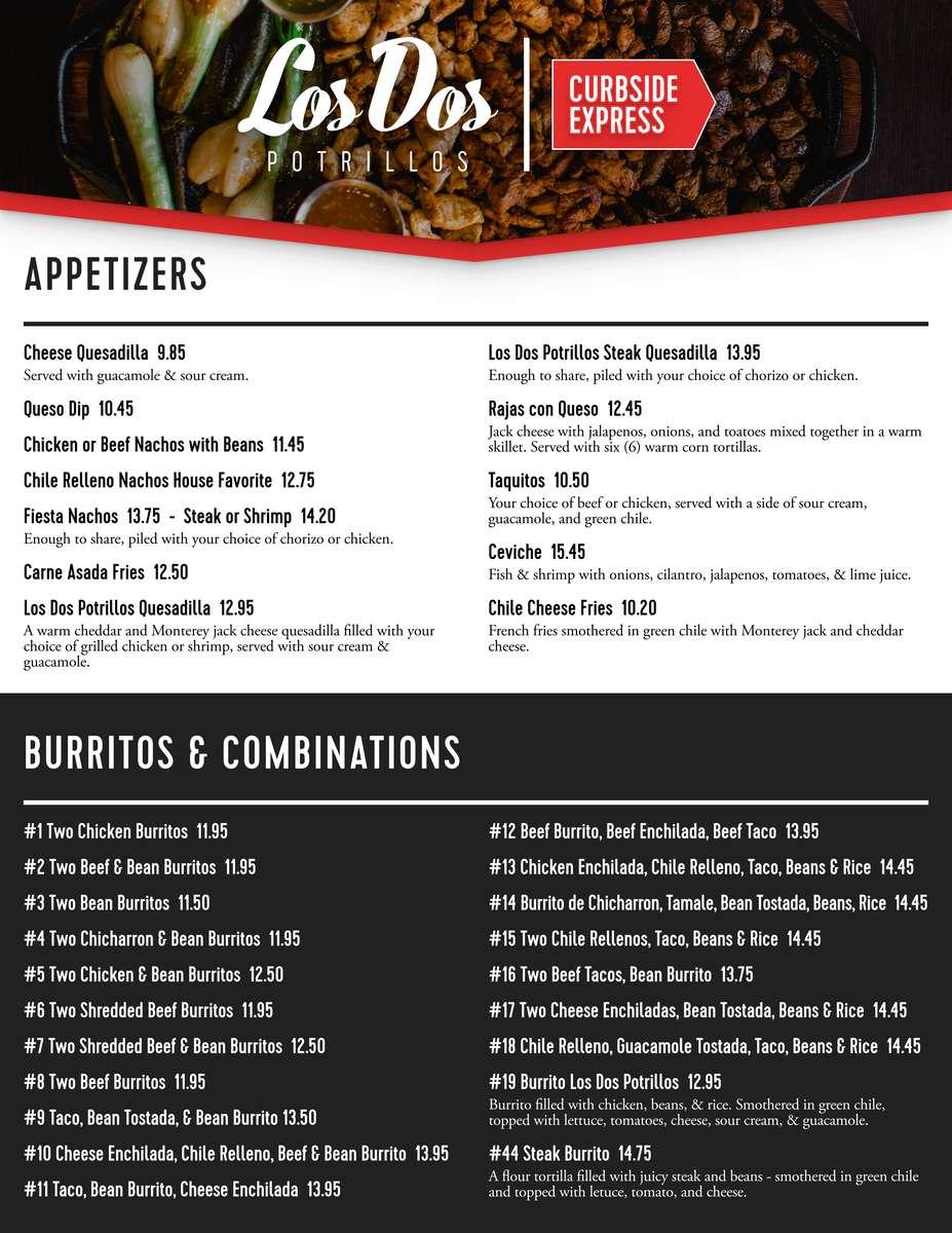 express menu