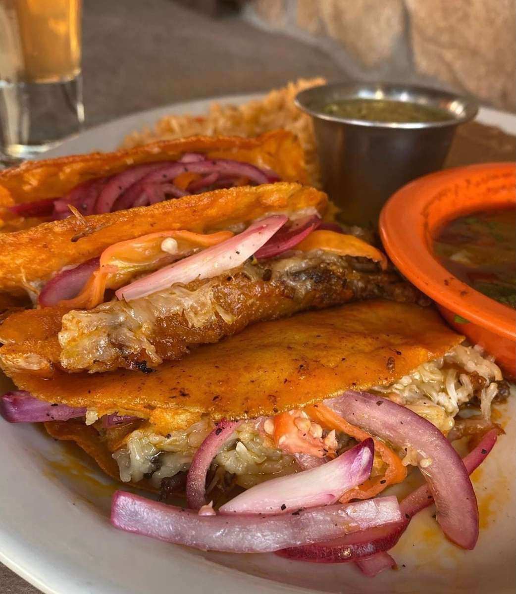 Barbacoa Quesa Tacos
