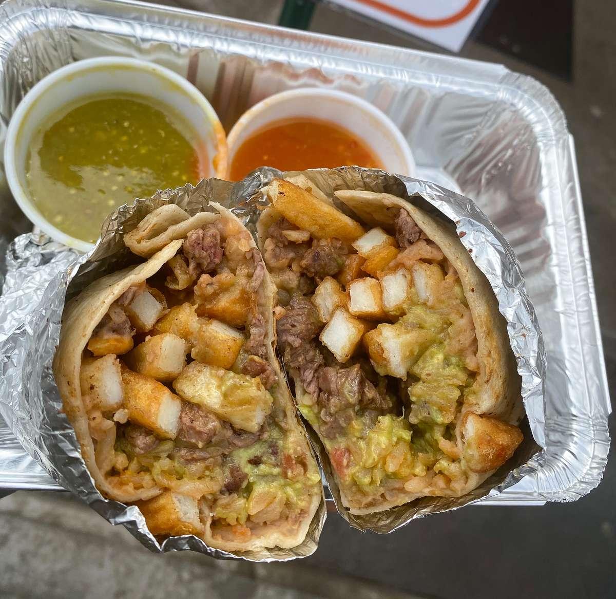 Los Dos Cali Burrito