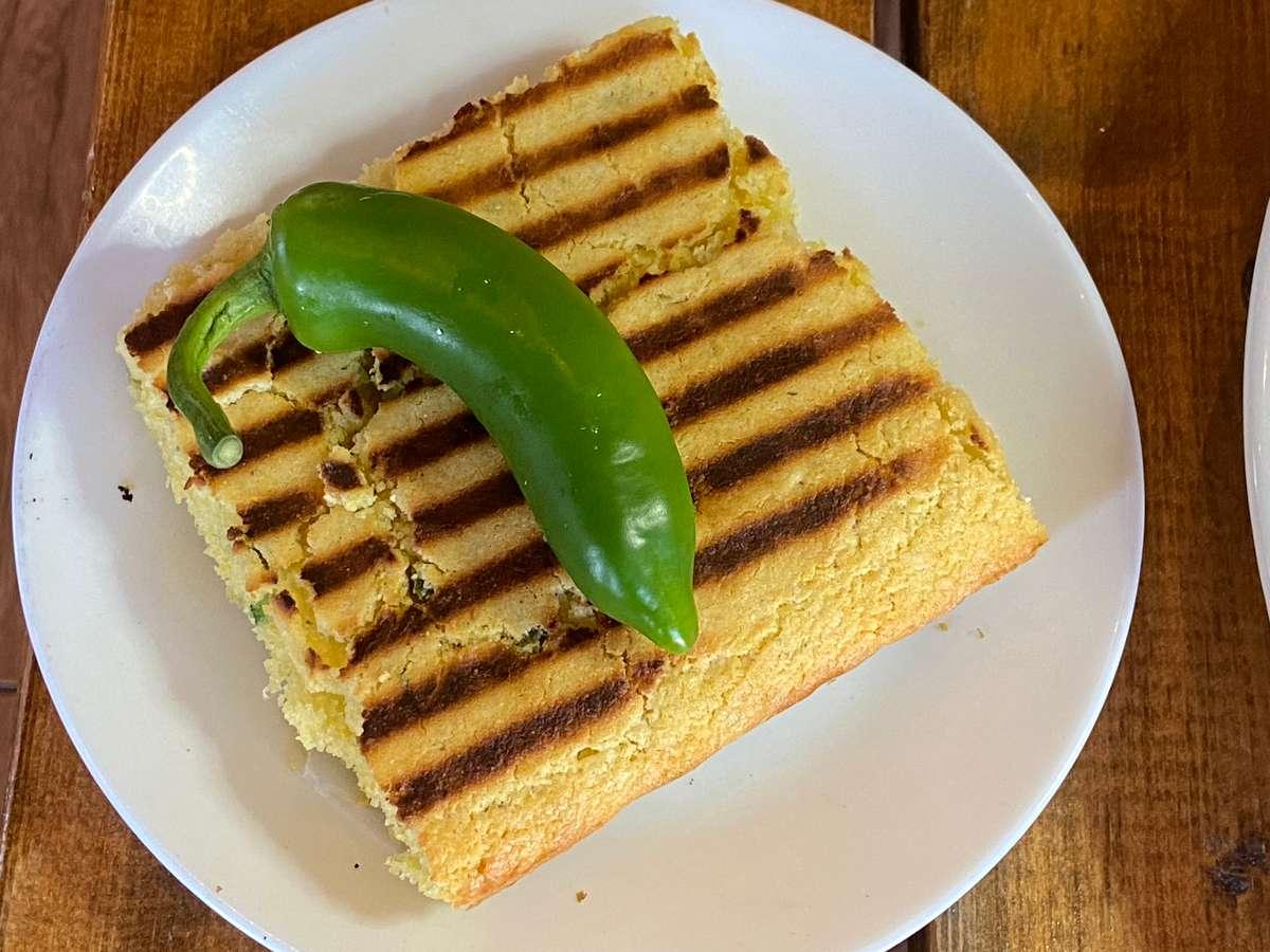Grilled Jalapeño Cornbread