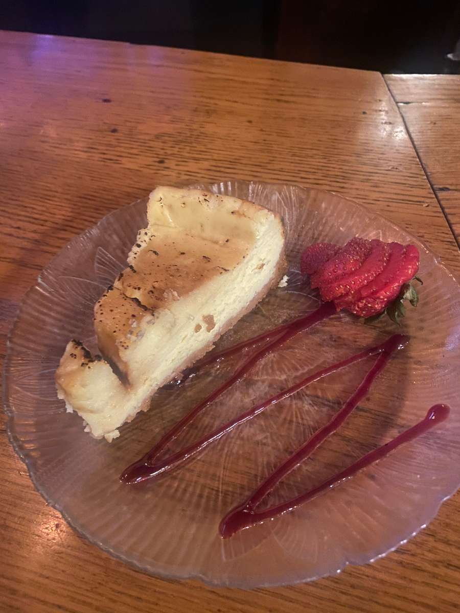 crem Brulee cheese cake