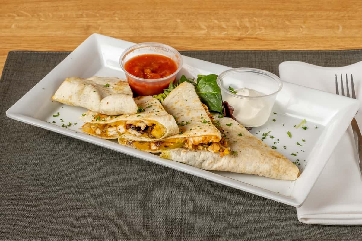 Vegetable & Cheese Quesadilla