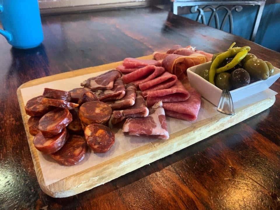 Spanish Cured Meats Board