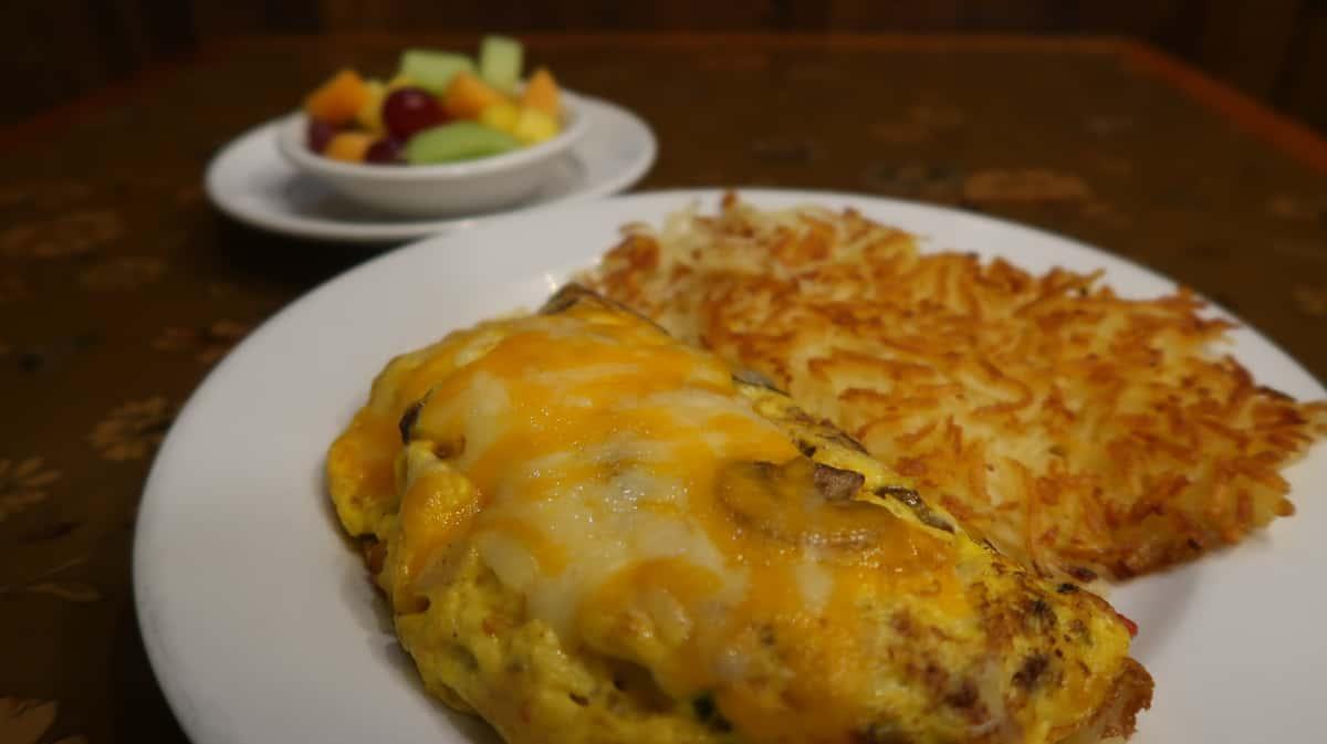 Steak Omelete