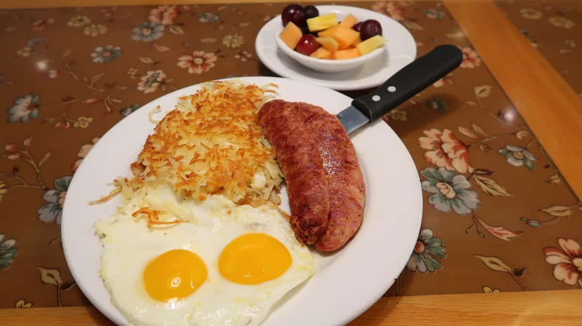 Andouille Sausage & 2 Eggs