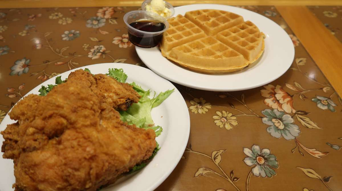 Waffle And 1 Breast