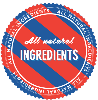 All Natural Ingredients badge