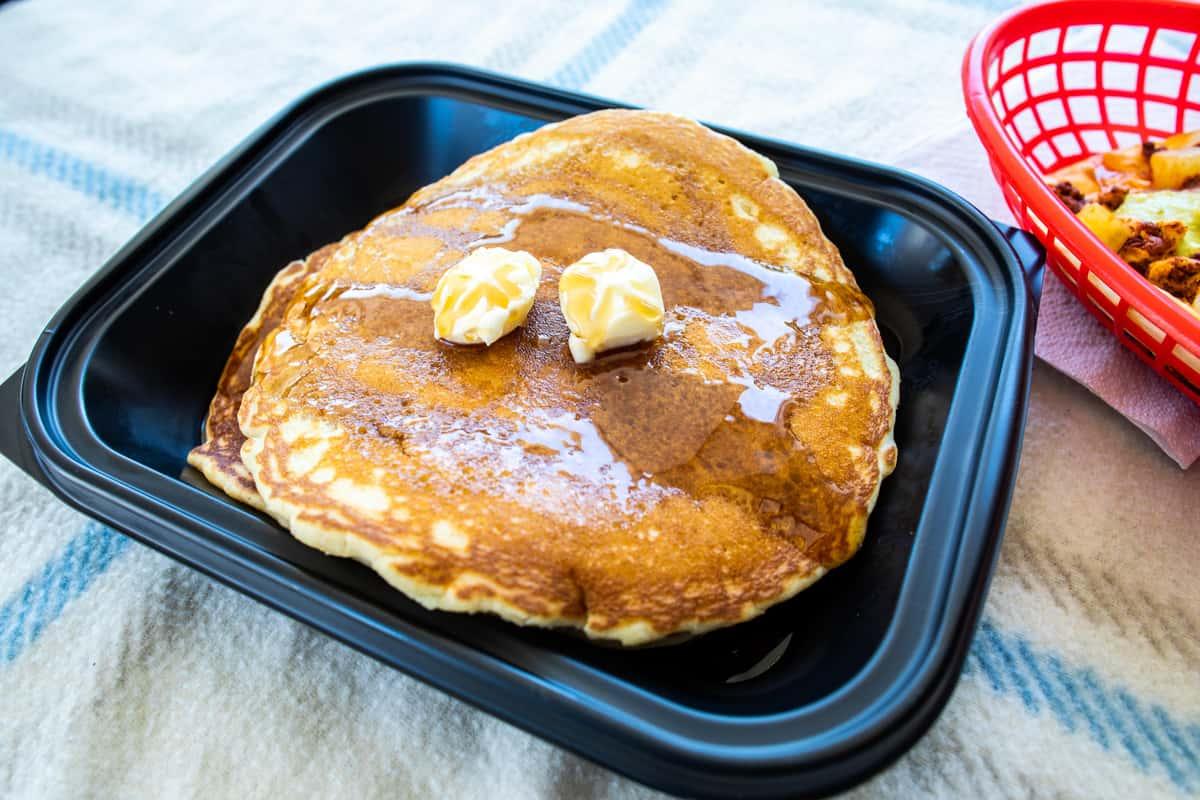 sweet cream pancackes