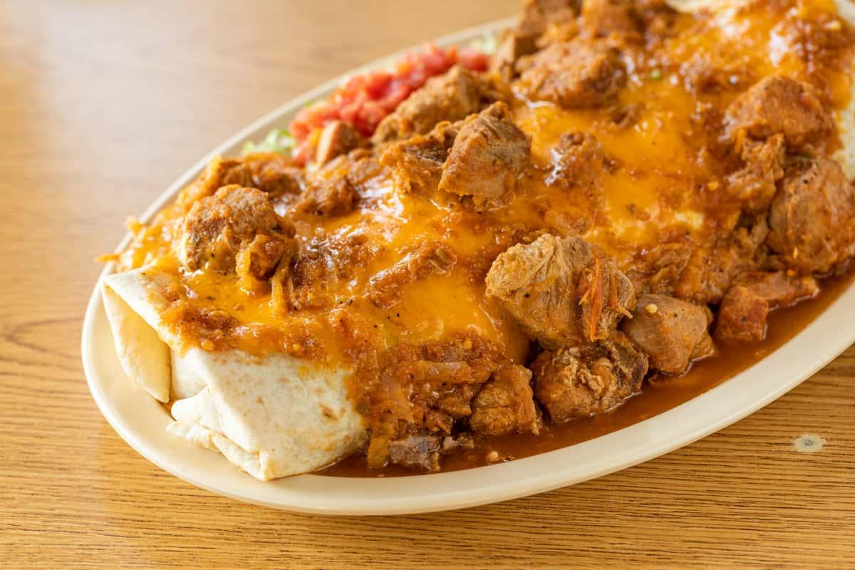 Classic Special Pork Chile Verde Burrito