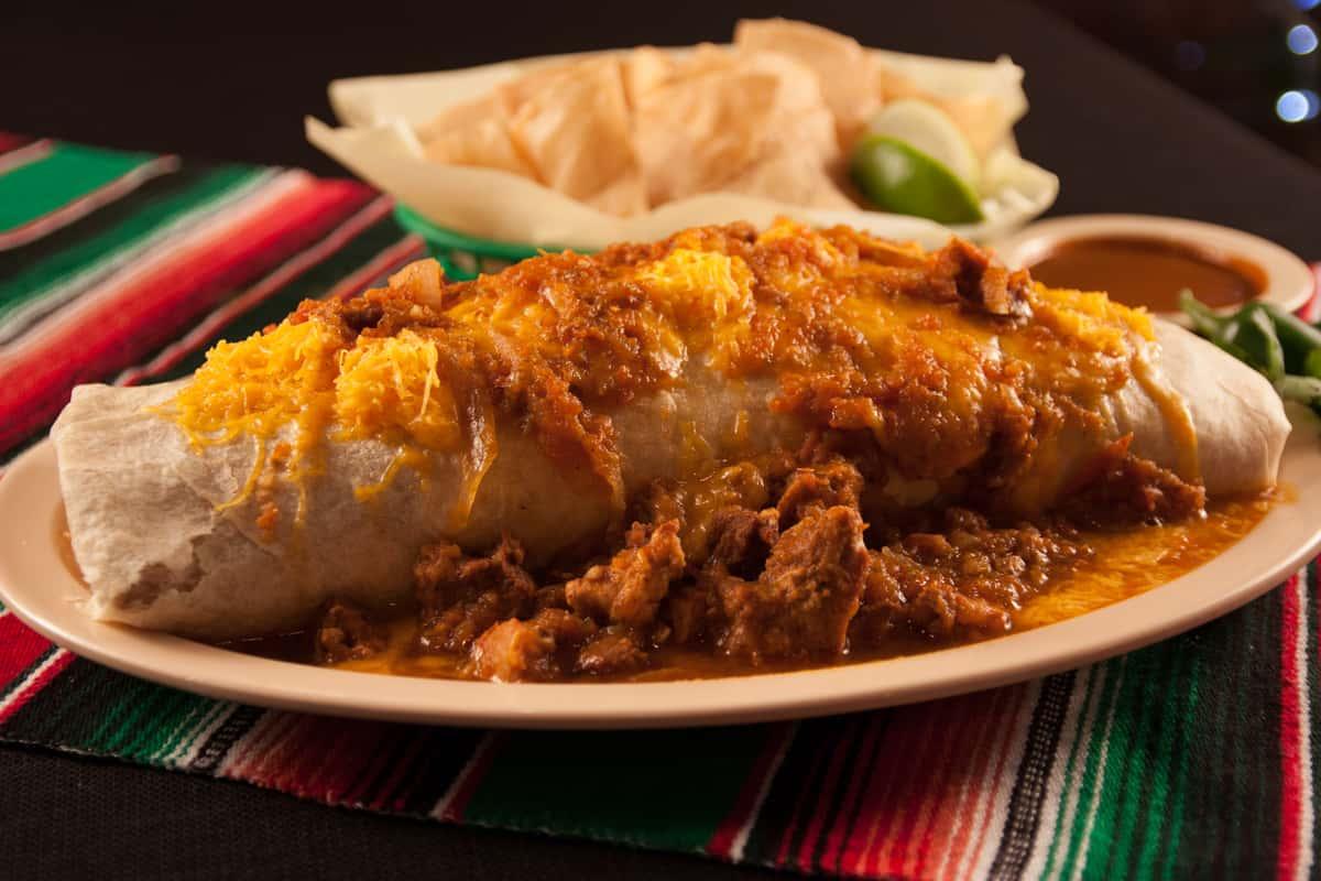 Carne Asada Party Burrito