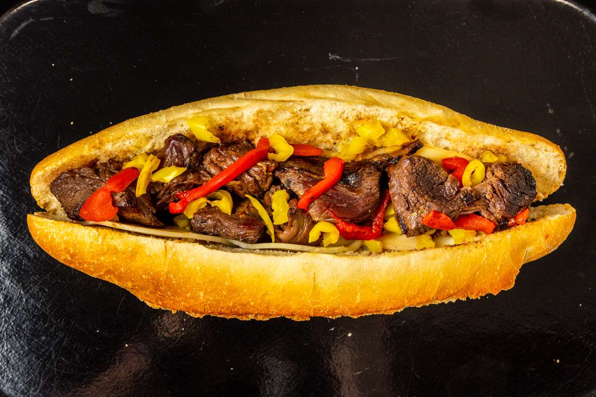 Uncle Michael's Marinated Steak Tip Sub
