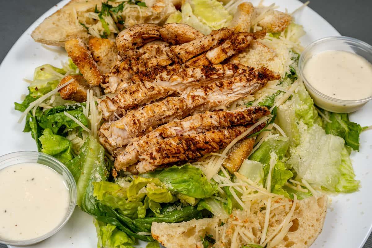 Grilled Boneless Chicken Salad