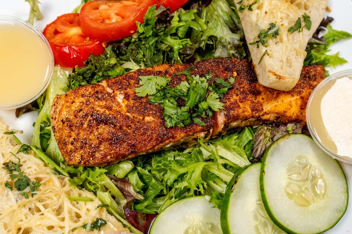 Salmon House Salad