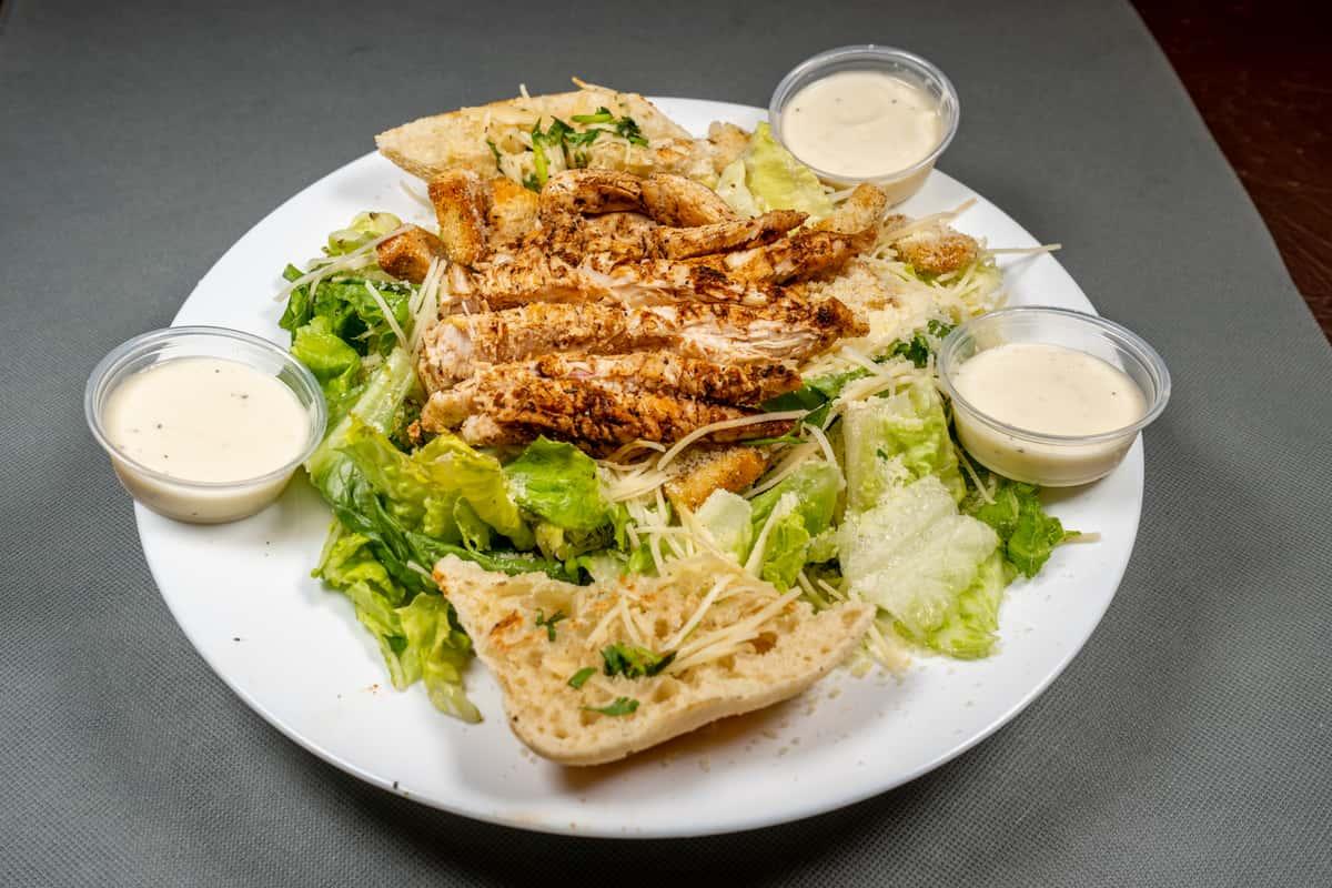 Grilled Boneless Chicken Ceasar Salad
