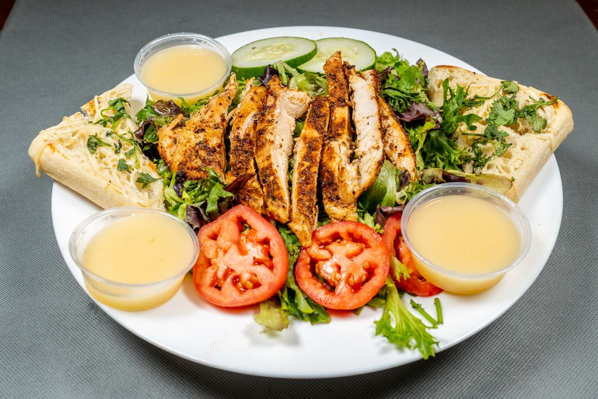 Grilled Chicken House Salad