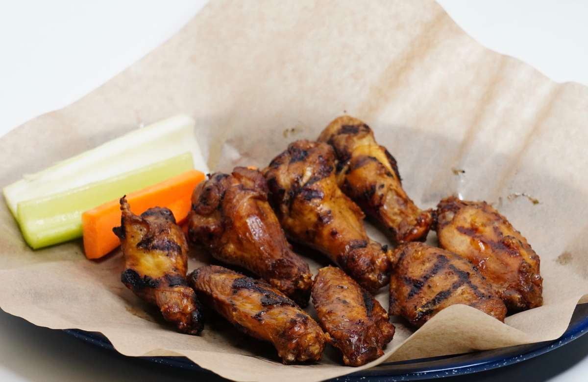 BBQ or Hot Wings