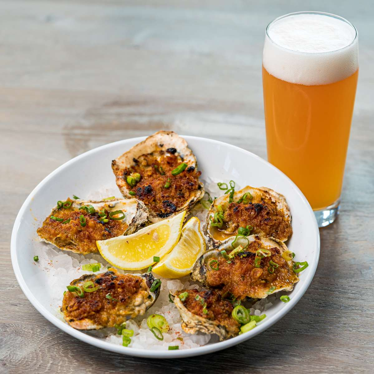 *New Orlean-Style BBQ Oysters