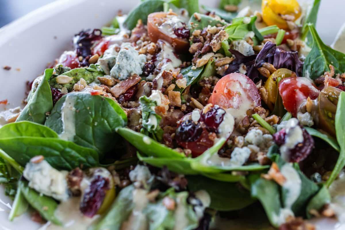 Back 40 Spinach Salad
