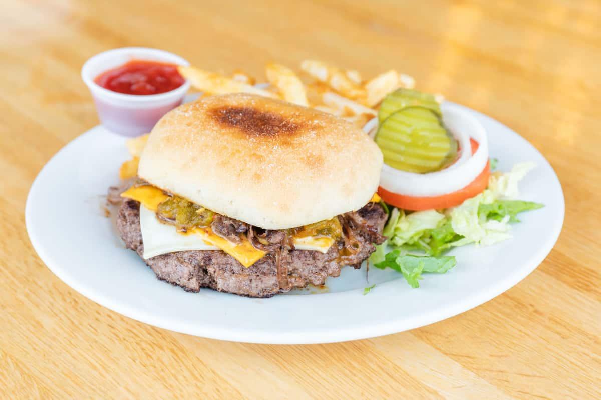 Frank Sr's Brisket Burger
