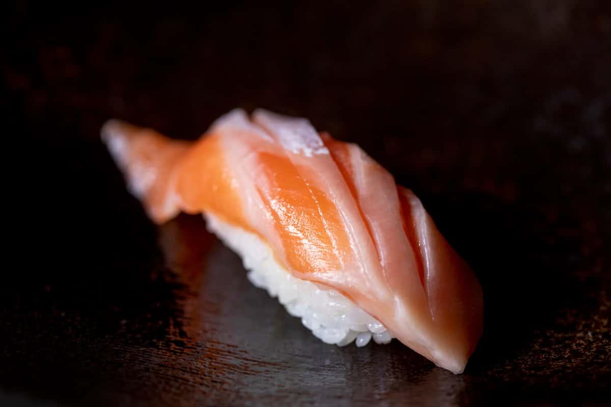 """Sake """"Harami"""" (Salmon Belly)"""