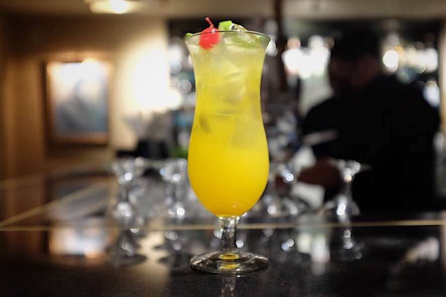 WHISKEY PASSION SOUR