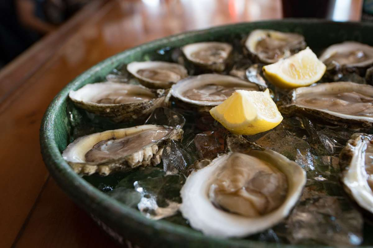 Oysters On The ½ Shell