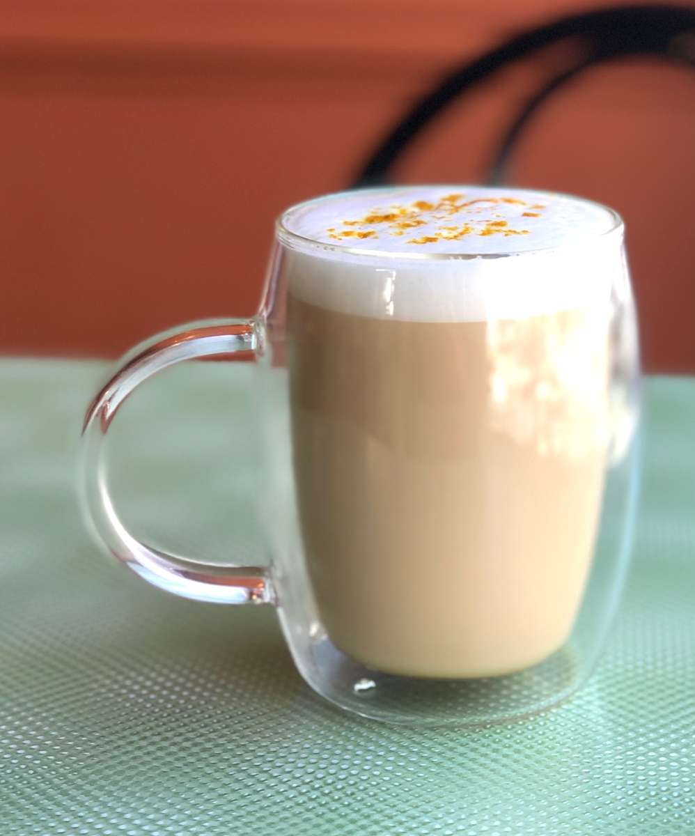 Golden Turmeric Honey Latte