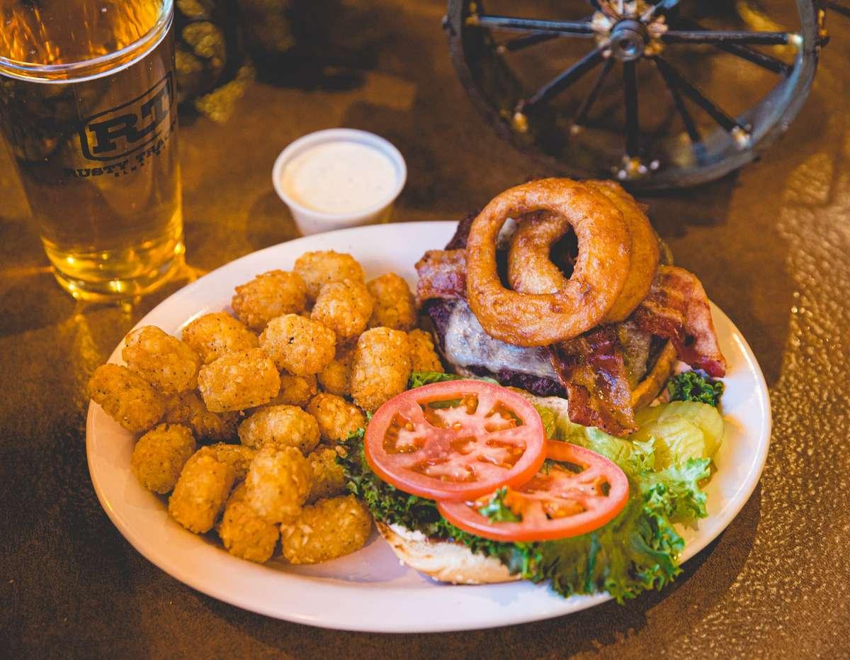 Yak Cowboy Burger*