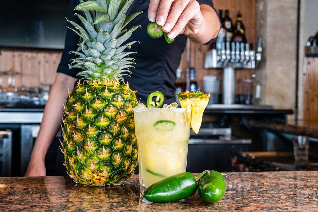 Pineapple Jalapeño Margarita