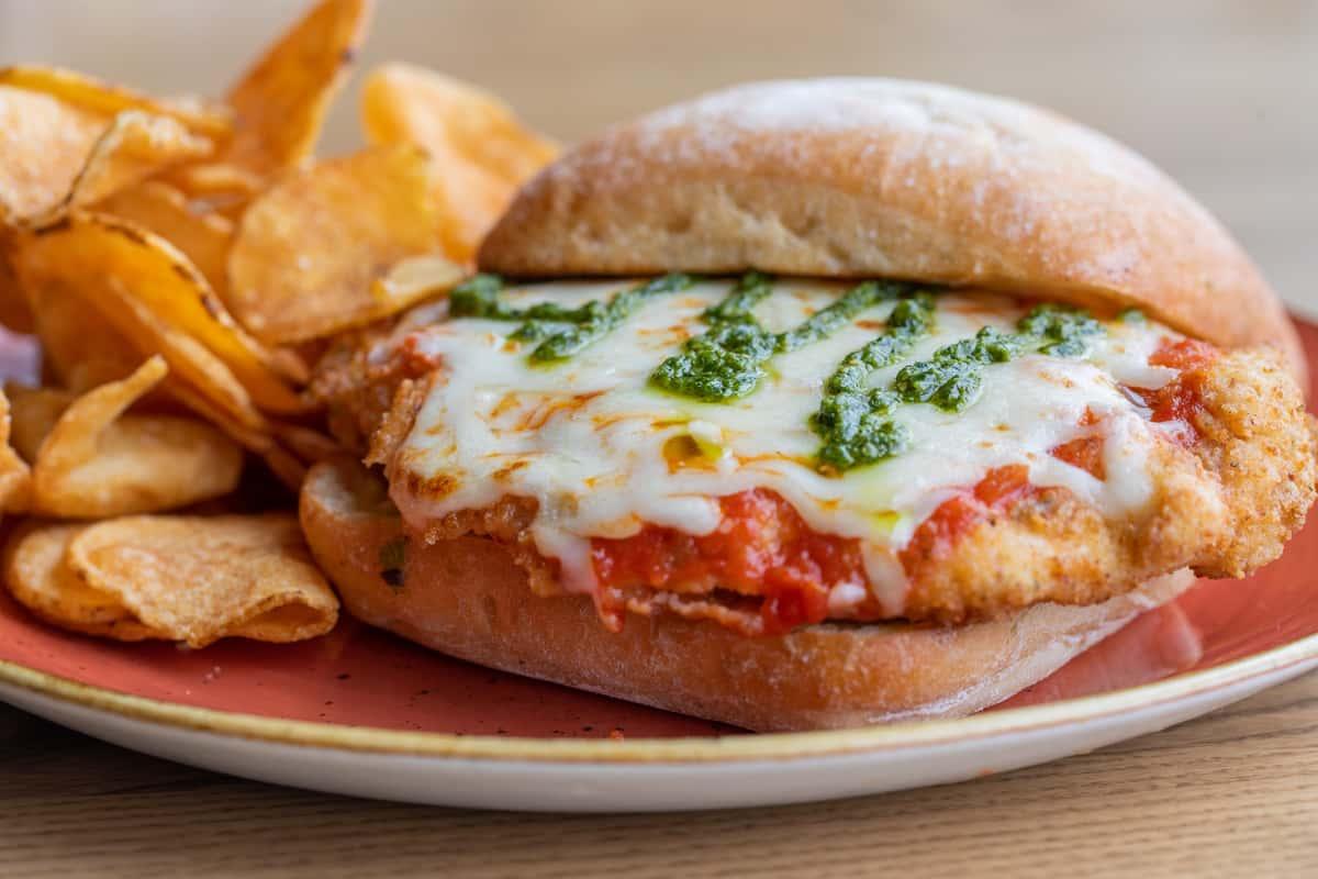Parmigiana Sandwich