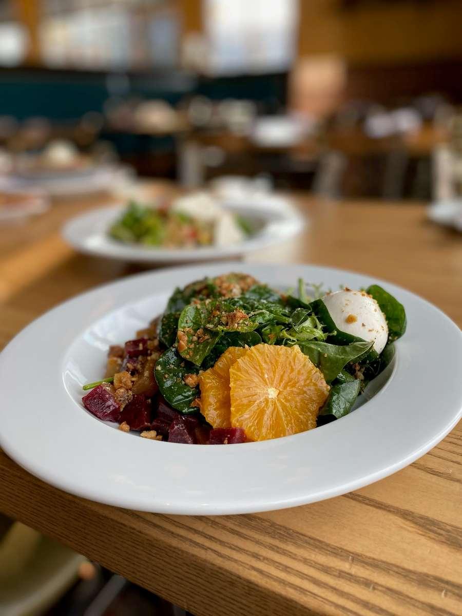 Beet & Burrata Salad