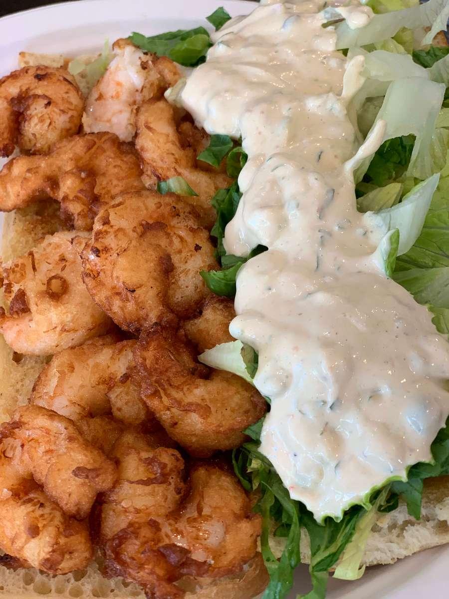 Shrimp Po'boy #28