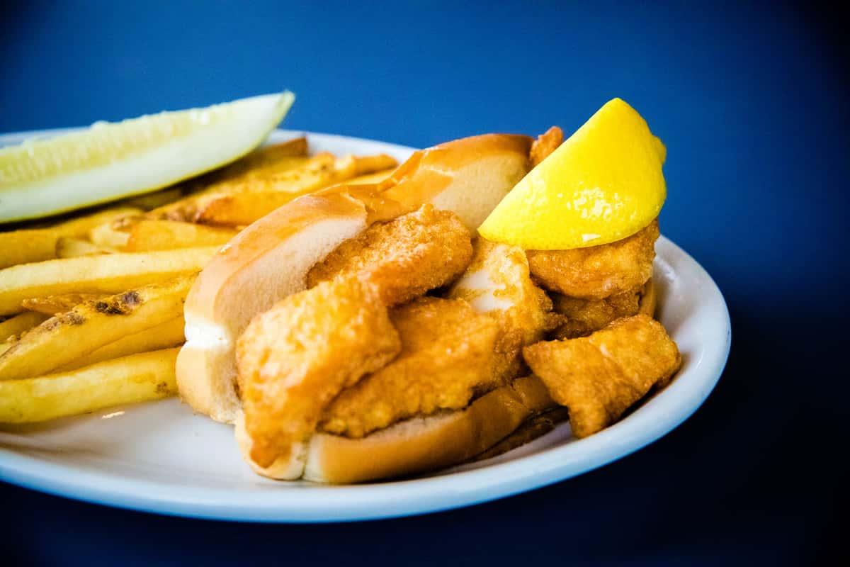 Fried Sea Scallop Roll