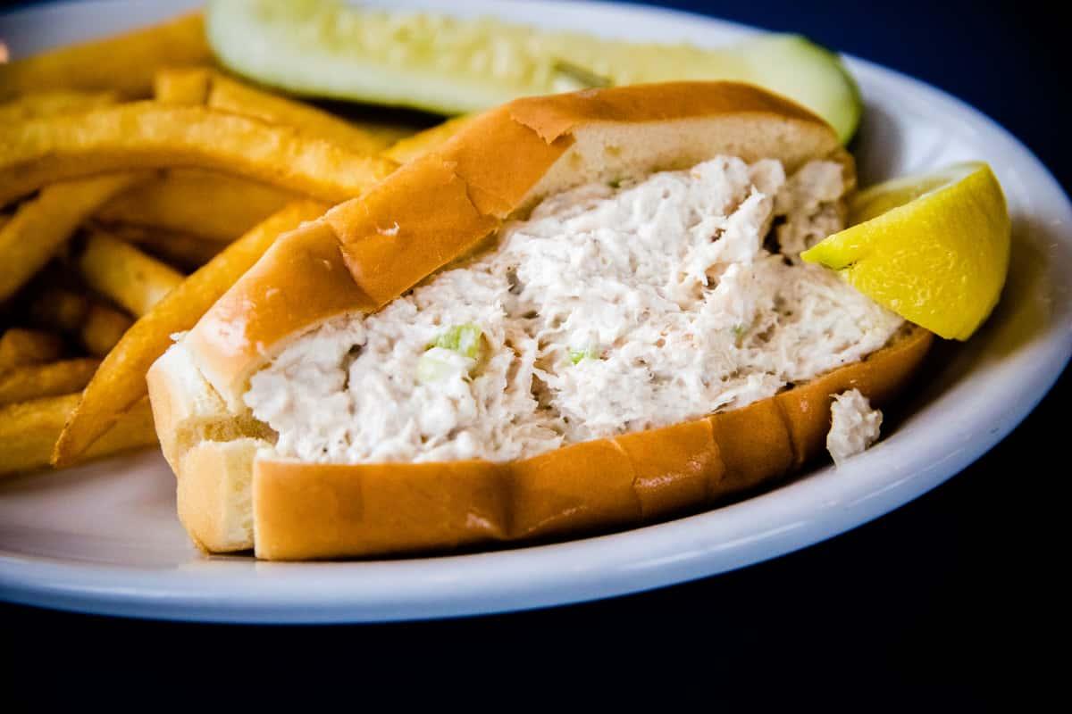 Chunk White Tuna Salad Roll