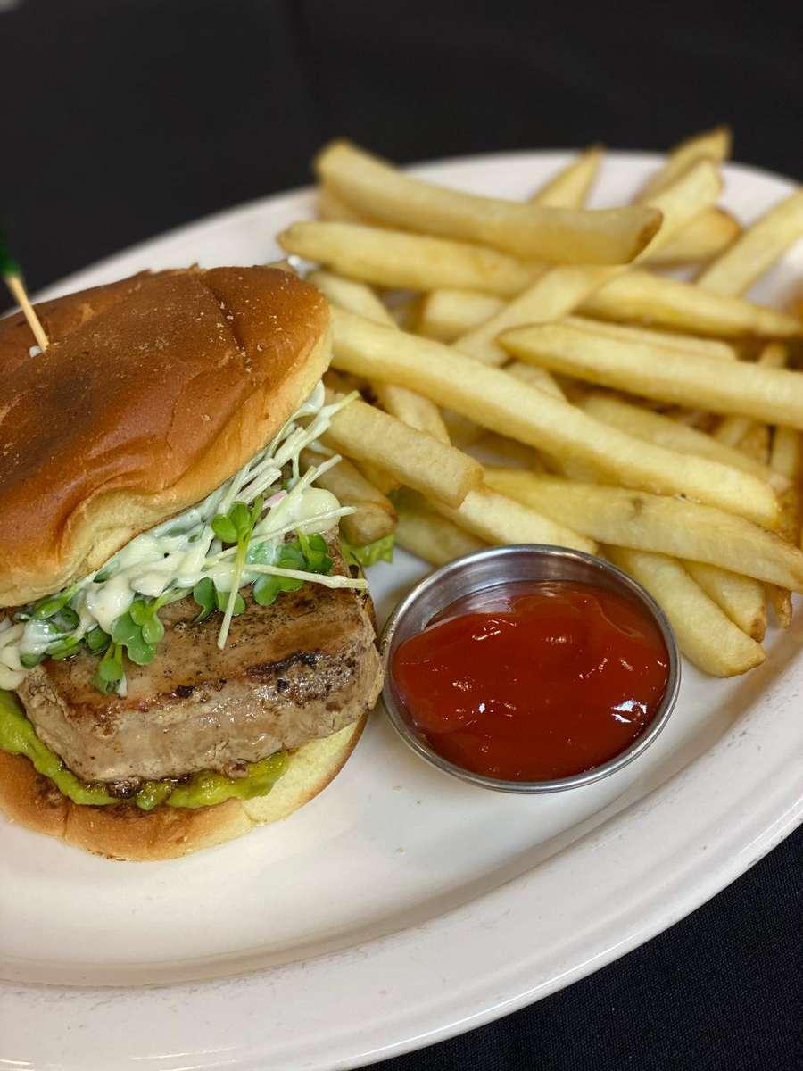 Tuna Steak Burger