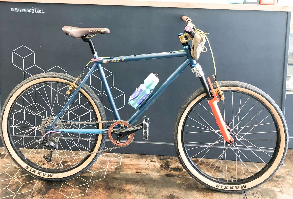 Bikes of a bloc