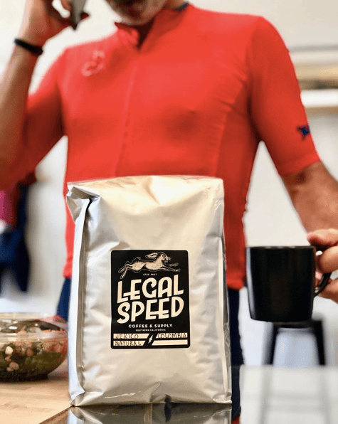 Retail: Legal Speed Coffee Beans 12 Oz Bags