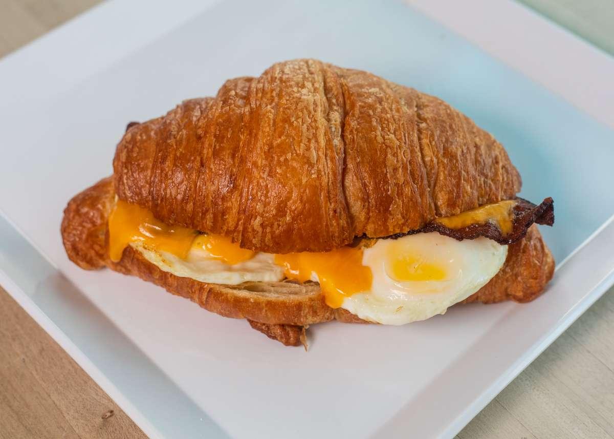 Go Breakfast Croissant