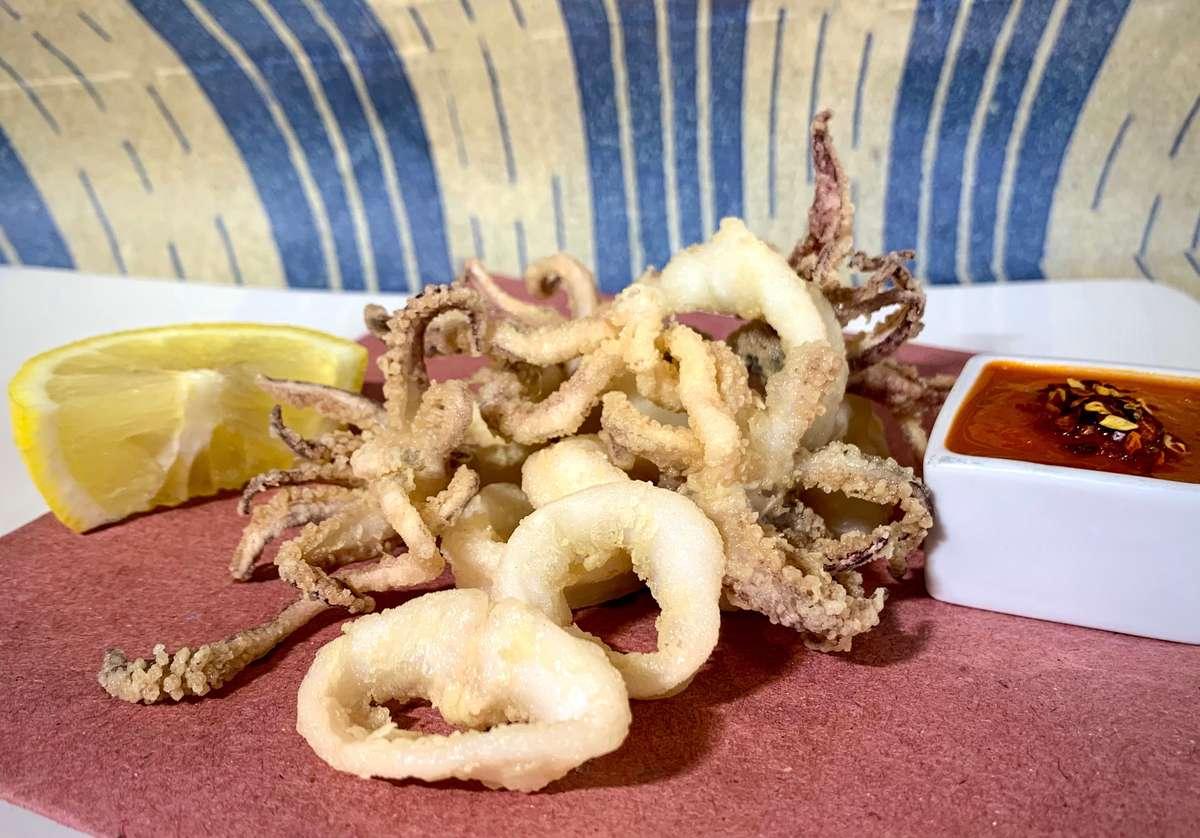Calamari Fritti (BAR MENU)