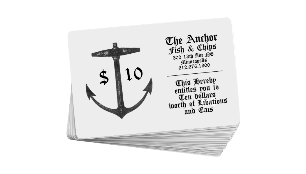 Anchor Bucks