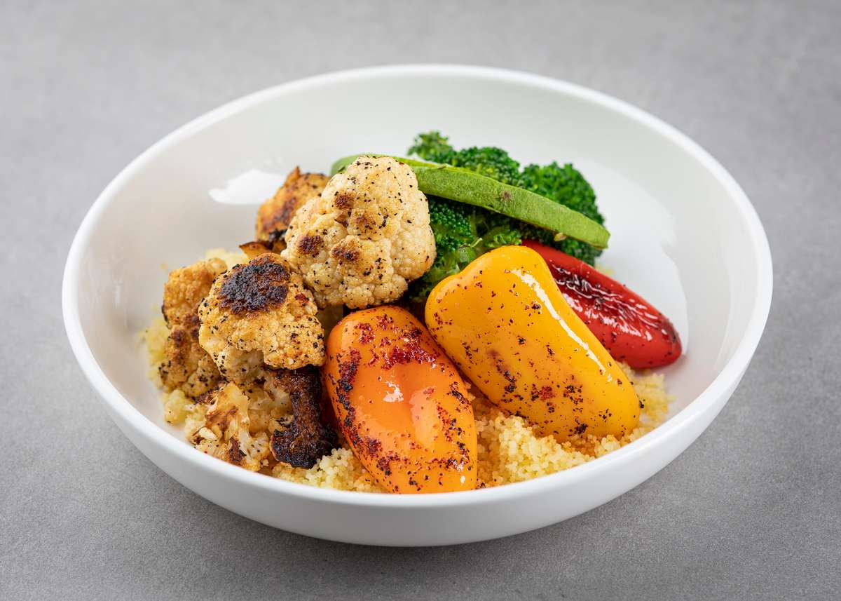 Build-Your-Own Roasted Veggies Bowl