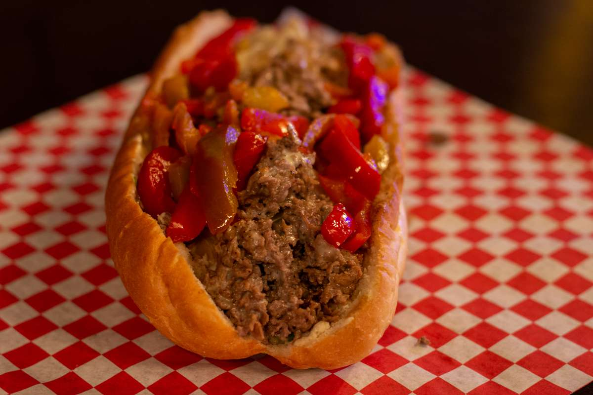 pepper cheesesteak